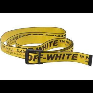 Off White Industrial Belt